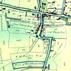 Coe map of Walthamstow